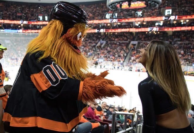 Gritty is one of the bright spots of the team...which isn't a great sign after 10 games this season.