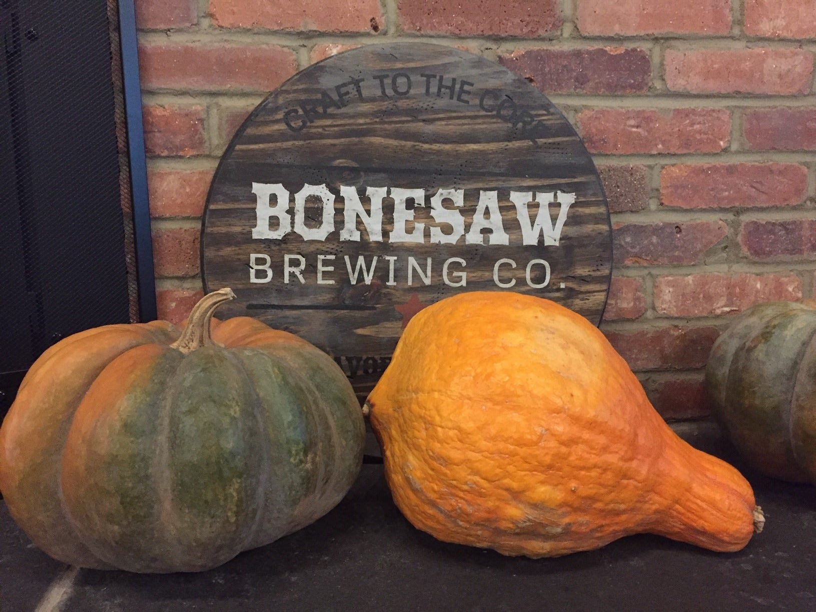 The themes of Bonesaw Brewing Company pair well with Halloween.