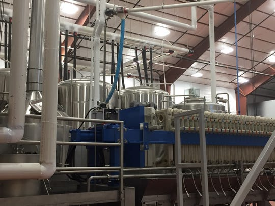 Bonesaw Brewing Company in Glassboro uses a high-efficiency brewing system (HEBS), unusual for anything but large mass-market breweries. This mash-filter system by IDD of Ventura, California, allows for more efficient use of water and faster brewing processes.