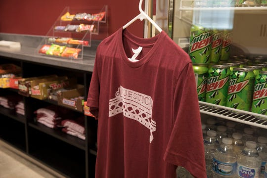 Shirts, snacks, and other memorabilia will be sold in the new concession area of the Majestic Theatre.