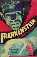 """""""Frankenstein,"""" filmed by Universal in 1931, was one of the films that made the studio the kings of the horror genre"""