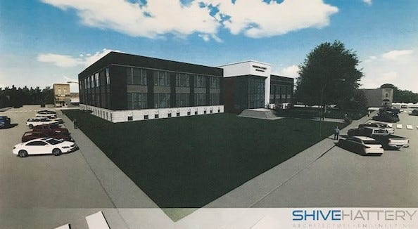 """Recent updated image of proposed Warren County Justice Center. County Supervisor Dean Yordi says the two-story center atrium is wasted space. """"I don't like it,"""" Yordi said recently."""