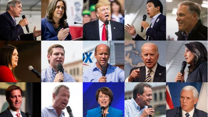 October roundup: Here are all the politicians visiting Iowa this month
