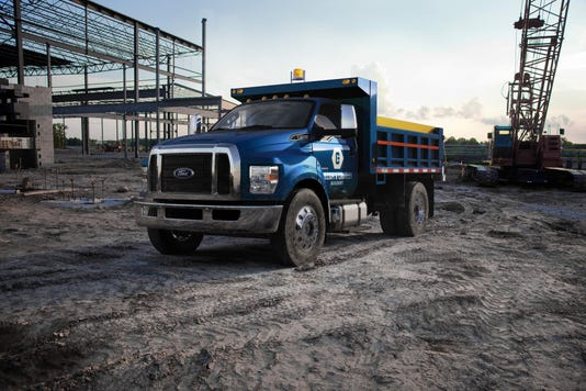 Ford Moved Production Of F 550 650 And 750 Medium Duty Trucks From Mexico To Ohio Photo Motor Co