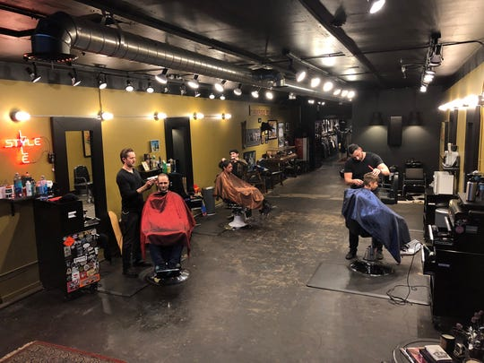 Youngbloods, barber and menswear boutique, opened in July.