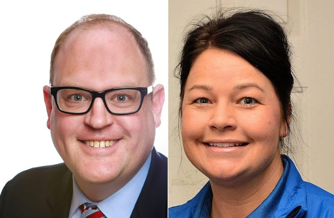Democrat Fred Miller and Republican Lisa Sinclair are vying for the office of Macomb County Clerk/Register of Deeds.