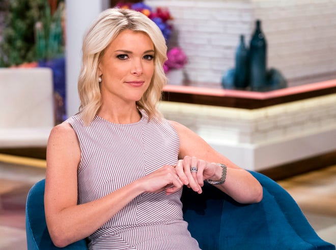 "Megyn Kelly on the set of ""Megyn Kelly Today"" at NBC Studios in New York."