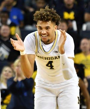 Michigan forward Isaiah Livers