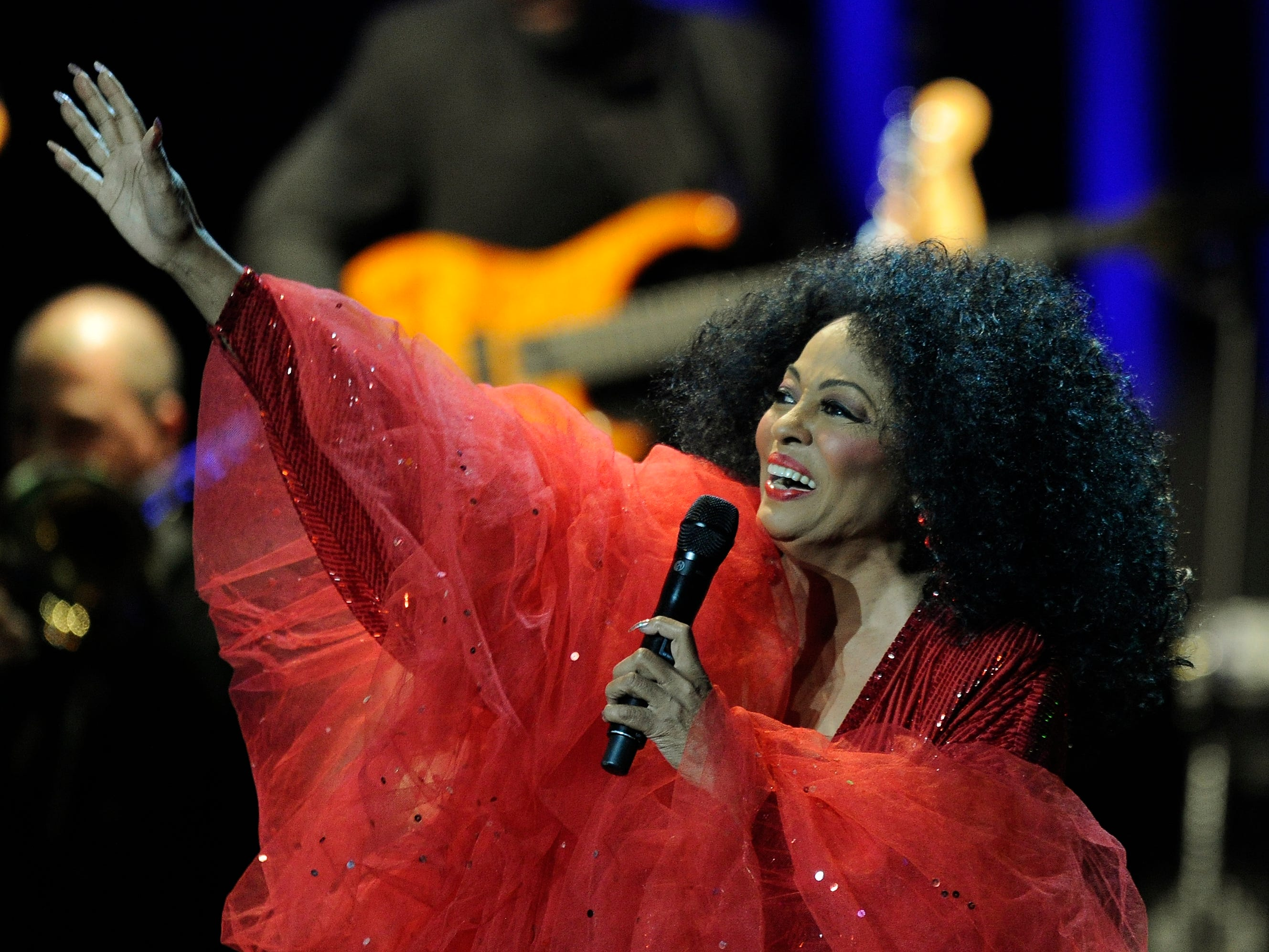 Diana Ross performs at the Sound Board at the Motor City Casino in Detroit on Aug. 25, 2013.