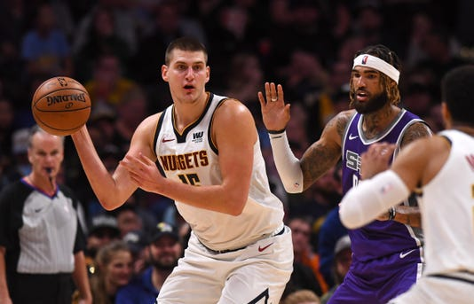 Nba Sacramento Kings At Denver Nuggets