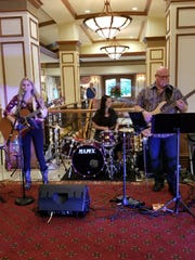 Ayla Lynn Mayo recently started her own band, the Alya Lynn Band, playing at local venues.