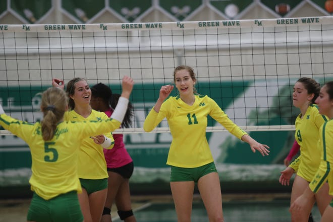 Fort Myers takes on Palmetto Ridge in the volleyball regional quarterfinals on Thursday, October 25, 2018, at Fort Myers High School.