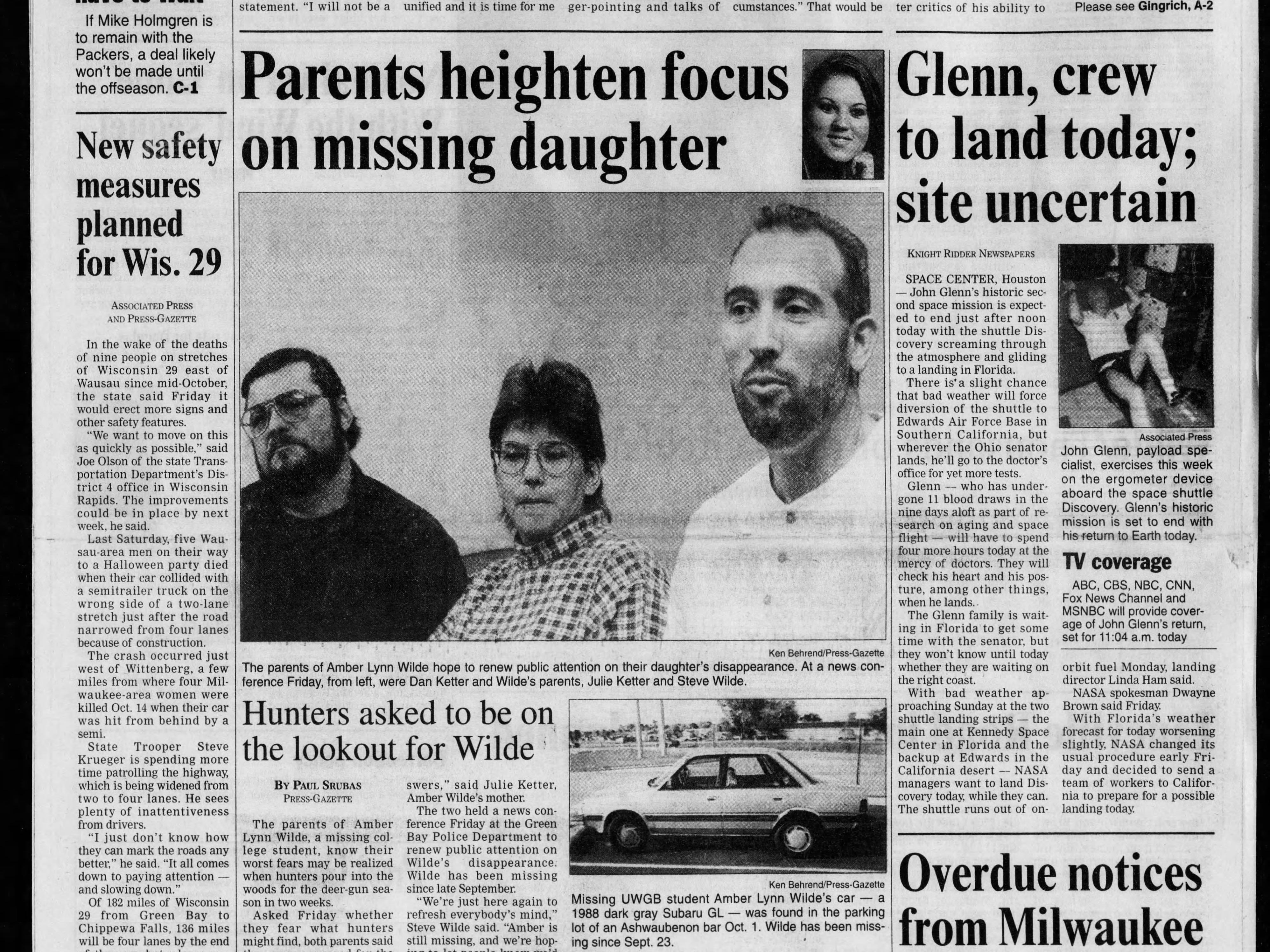 Today in History: Nov. 7, 1998