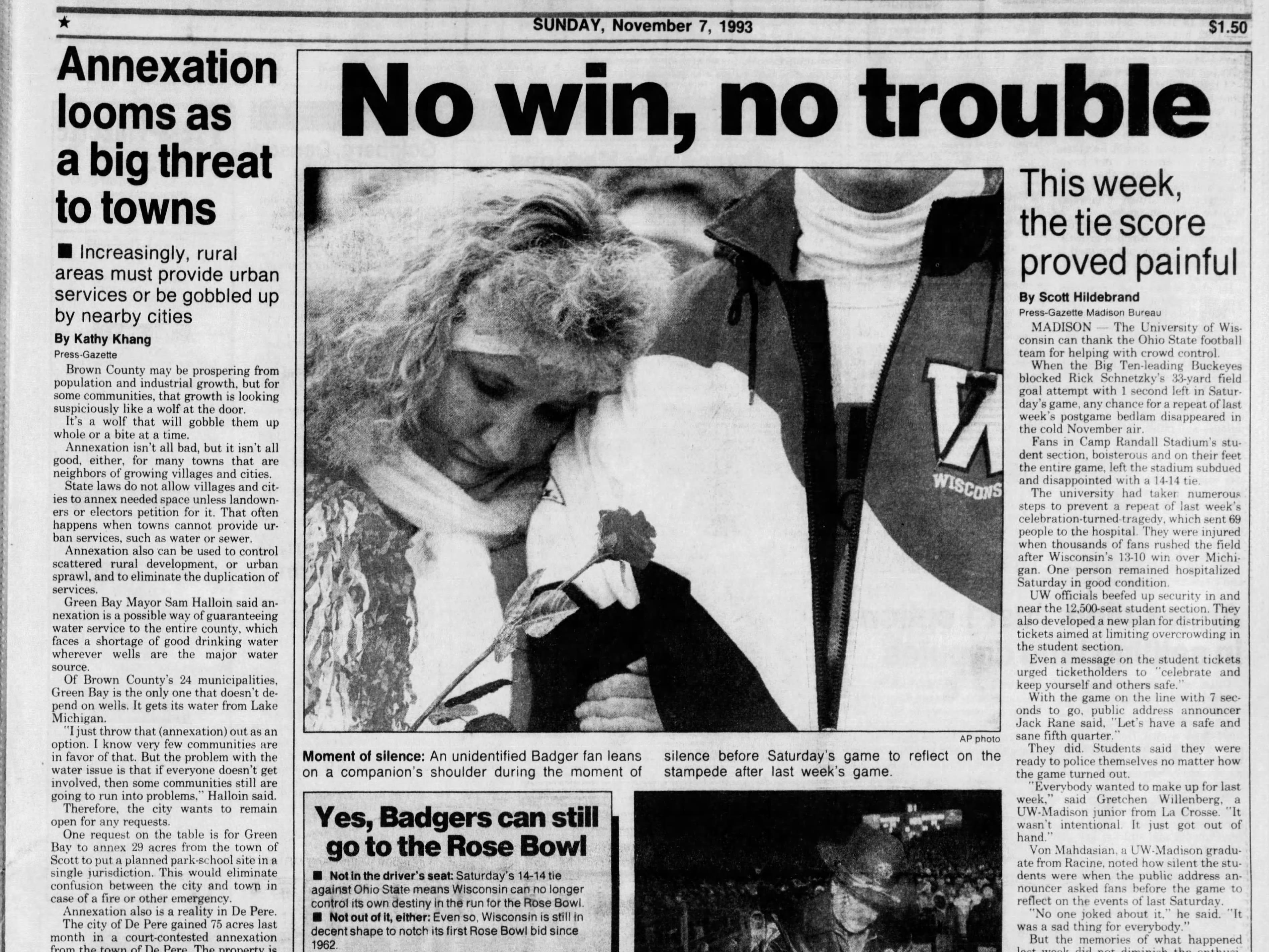 Today in History: Nov. 7, 1993