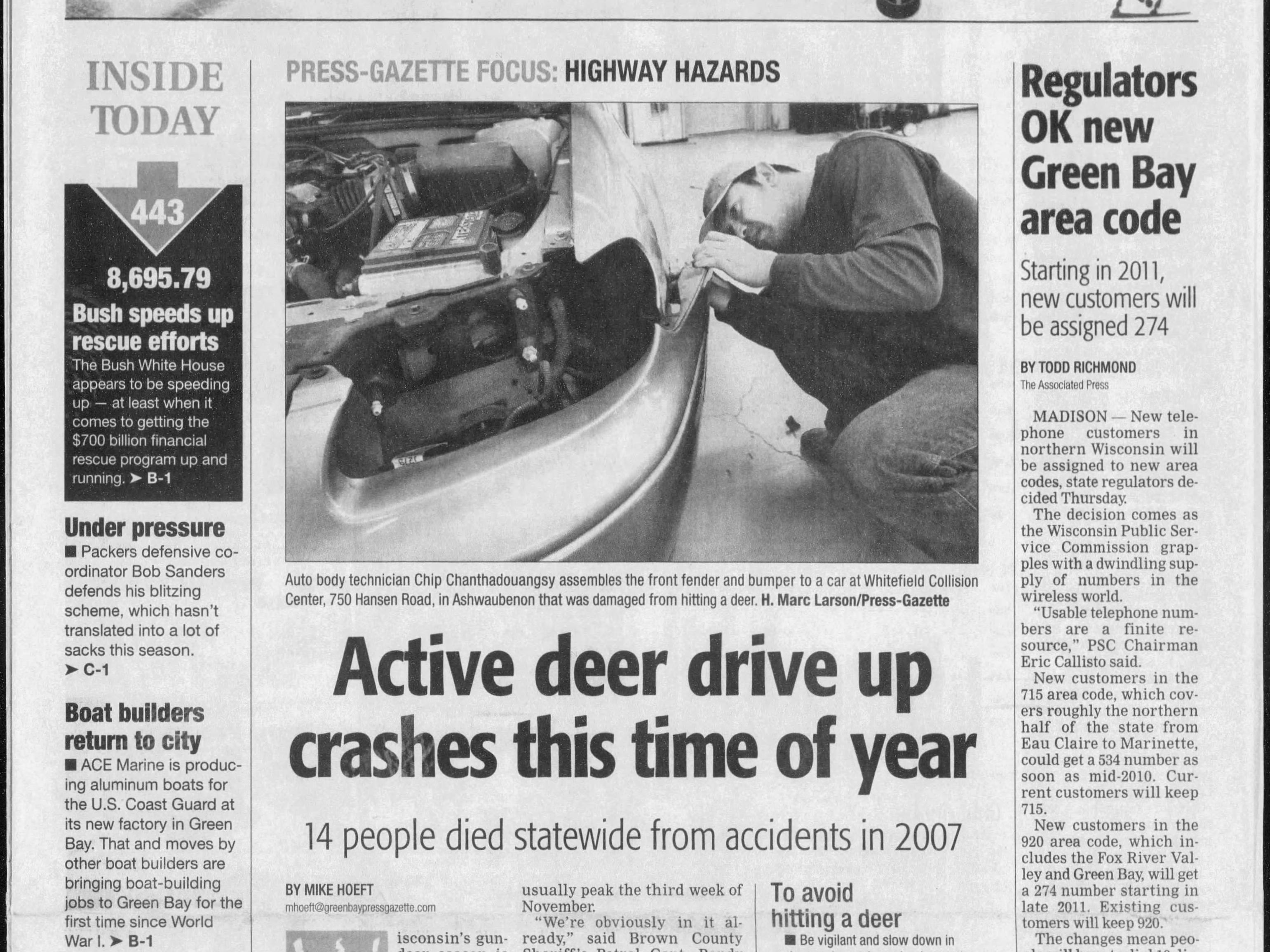 Today in History: Nov. 7, 2008