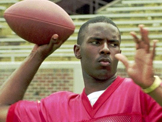 Florida State Heisman Trophy winner Charlie Ward.