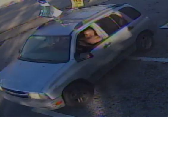 The Greenville County Sheriff's Office needs help identifying the vehicle and suspect pictured.