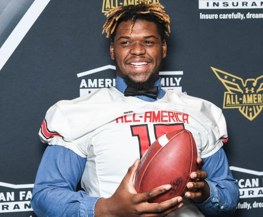Zacch Pickens All American Game Jersey