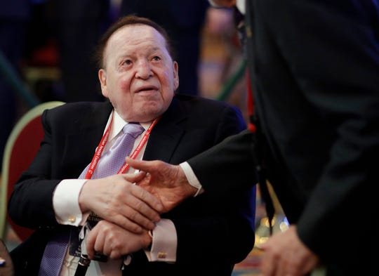 Sheldon Adelson, the Las Vegas casino magnate, and his wife, Miriam, were the top individual Republican donors in the midterms, giving a total of more than $130 million to GOP candidates and committees.