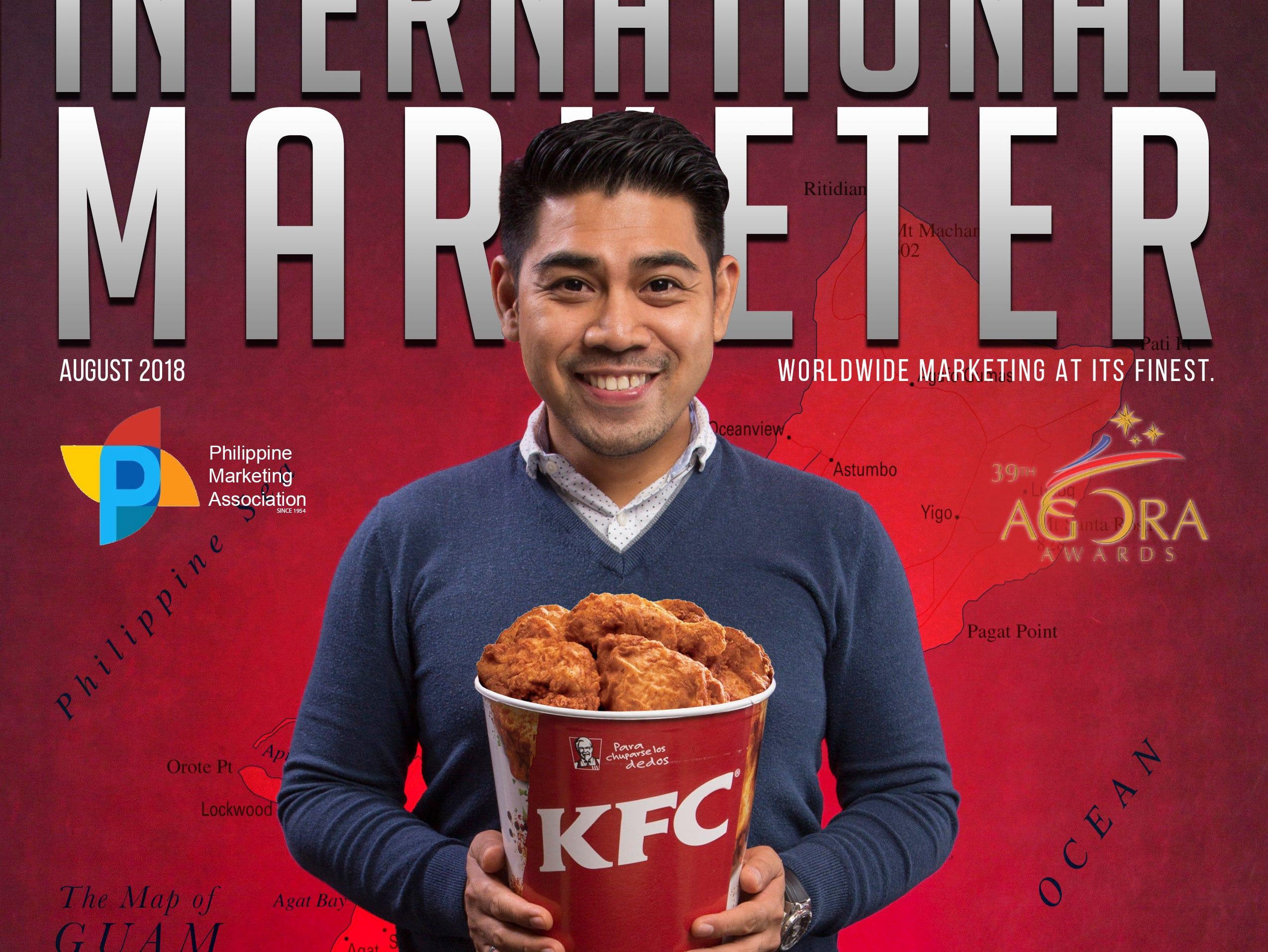 KFC marketing executive wins prestigious award