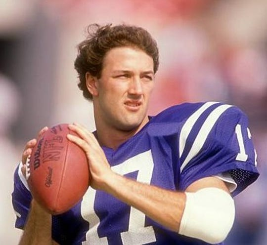 Chris Chandler was a rookie quarterback for the Indianapolis Colts' first Monday Night Football game in 1988.