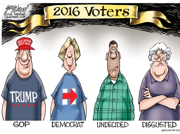 There was a new category of voters in 2016.