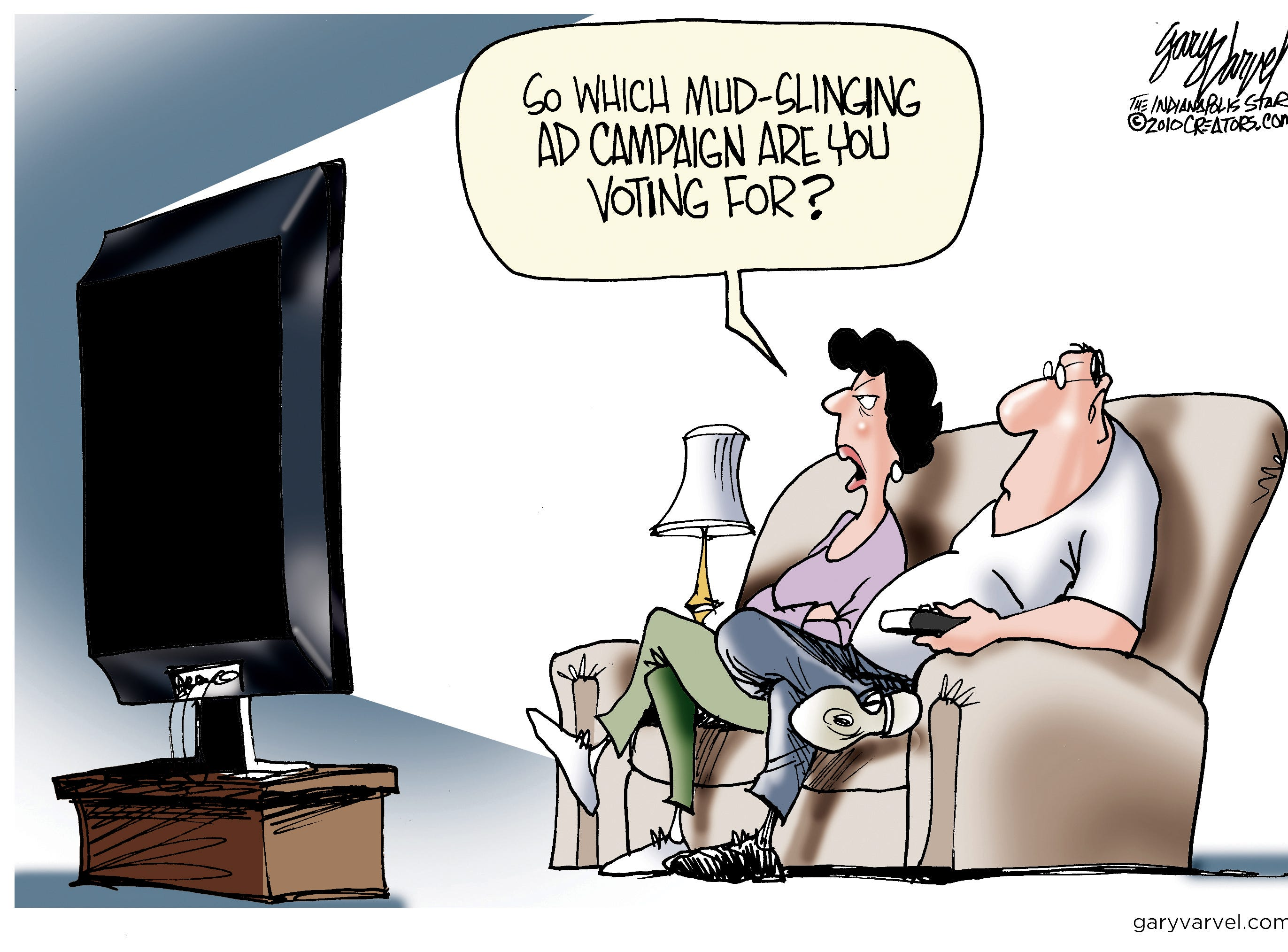 Voters occasionally vote for the lesser of two evils.