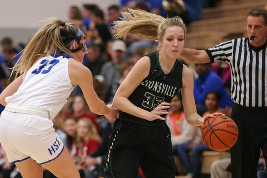 Zionsville's Delaney Richason (33) averaged nearly 10 points a game last season for the Class 4A state finalists.
