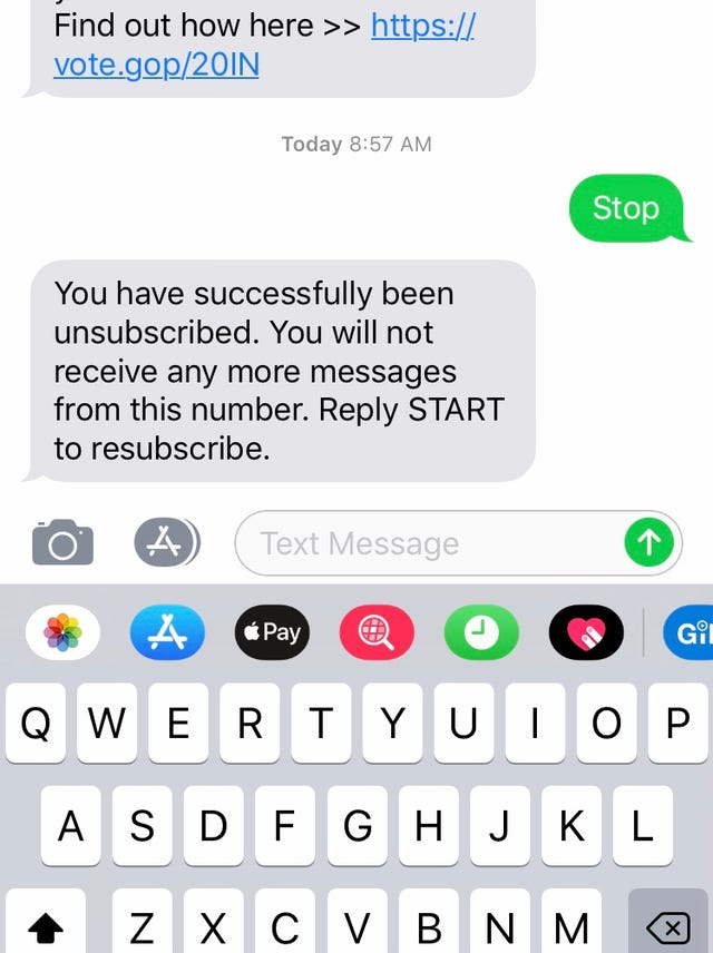 Texts from Trump: Why you may be getting texts about voting