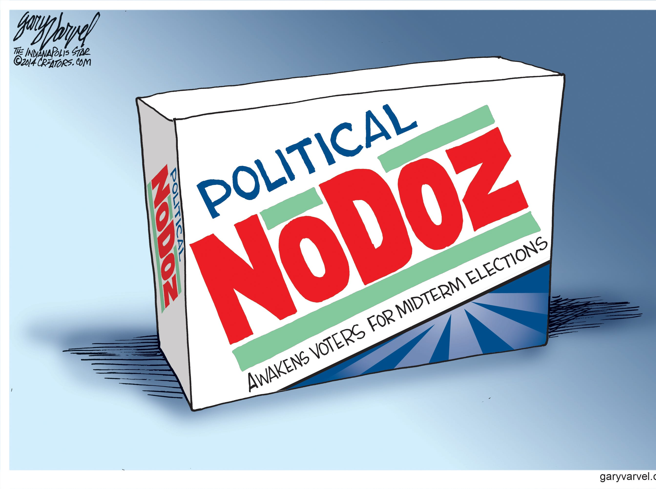 There is usually not much interest in mid-term election.
