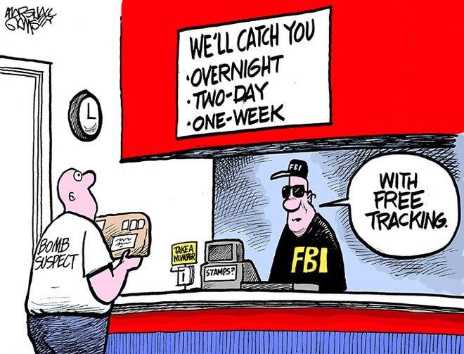 Law enforcement wastes no time.