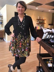 Amy Fenner is celebrating her first anniversary as a business owner at Bee's Knees Hairdressing Salon.