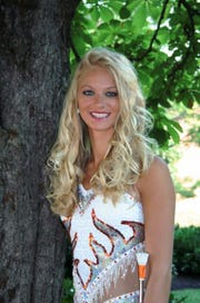 Lindsey Cupp, UT feature twirler 2004-2006 and head majorette, 2006-2008.