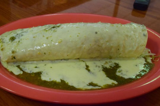 Burrito California is one of six varieties of burrito available at the Country Burrito.