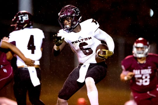 Fulton's Deshawn Page (6) has committed to Marshall