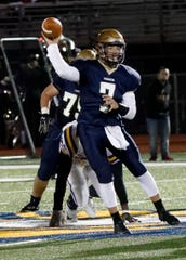 Lancaster senior quarterback Tyler Monk earned first team All-Ohio Capital Conference-Ohio Division honors and was also the OCC-Ohio Division Scholar Athlete Award winner.