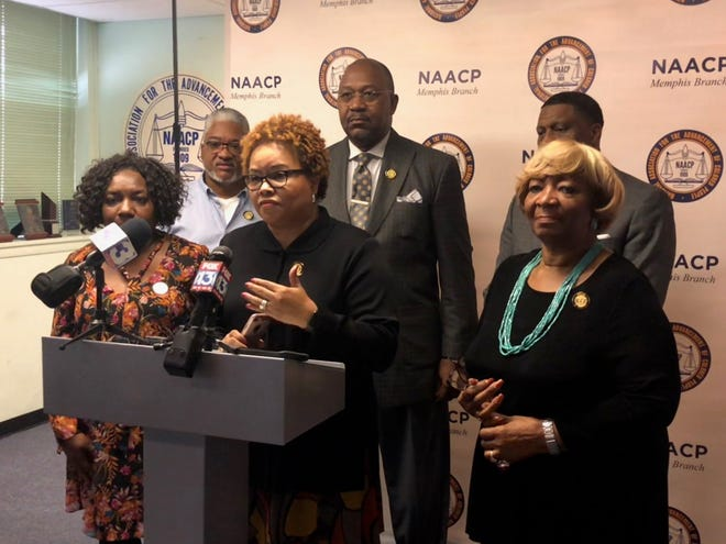 Deidre Malone, president of the Memphis NAACP chapter assures the media that history can and will repeat itself when it comes to voter suppression. The NAACP will be monitoring the election commission closely until November 6.