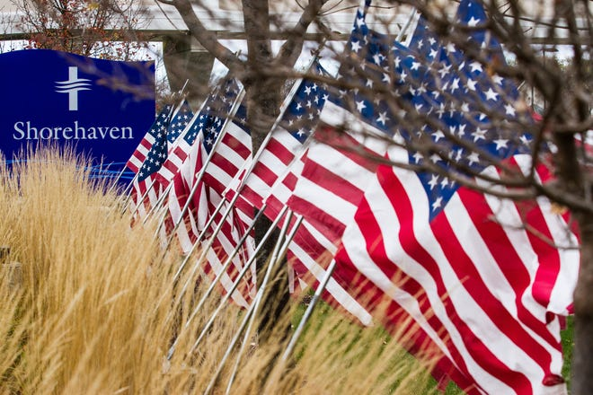 Shorehaven and its facilities in Oconomowoc will honor veterans on three occasions this year as part of its Veterans Day activities.