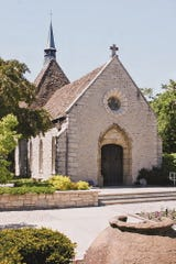 The St. Joan of Arc chapel is on the Marquette University campus.