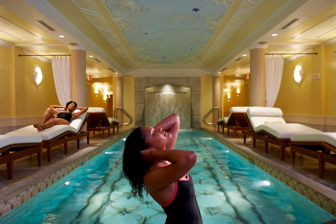 The Kohler Waters Spa is a luxurious retreat.