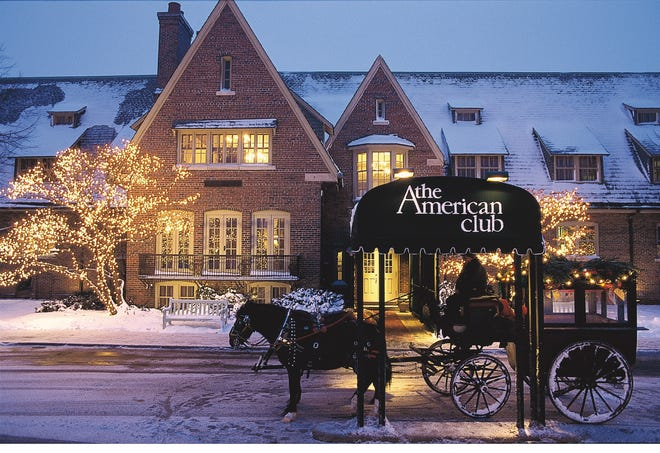 The American Club in Kohler will feature a Holiday Market Nov. 22-24.
