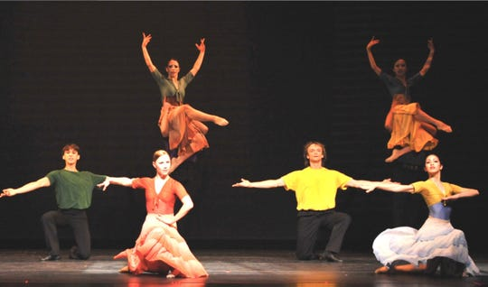 """""""Entre Dos Aguas"""" and other pieces will kick off the 60th season of the New Jersey Ballet on Saturday, November 10.  The performance at the Mayo PAC in Morristown will showcase the work of the company's international troupe of dancers and choreographers."""