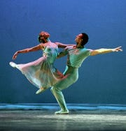 """Reflections on the Pond,"" a romantic pas de deux, is among the pieces featured in ""Highlights from the Repertory,"" a program marking the start of the 60th season of the New Jersey Ballet.  The company, based in Livingston, will perform this and other selections on Saturday, November 10, at the Mayo PAC in Morristown."