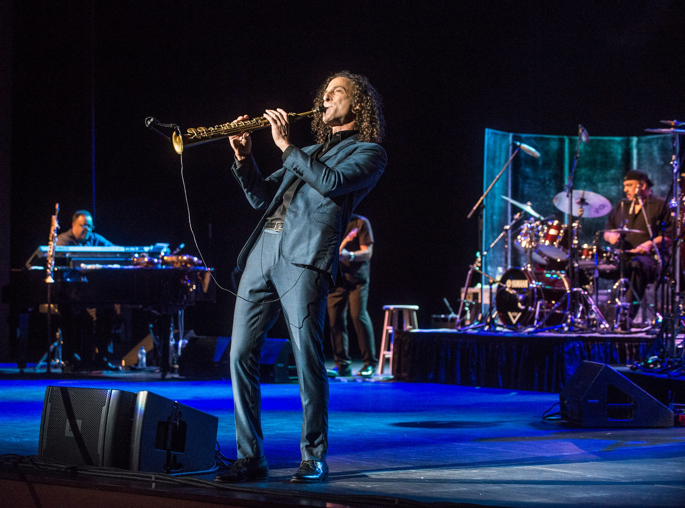 Kenny G performs Thursday, Oct. 25, 2018, at the Montgomery Performing Arts Centre.