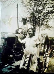 Jeannine Lee Lake's grandparents, Clarence and Lillian Lee. Provided