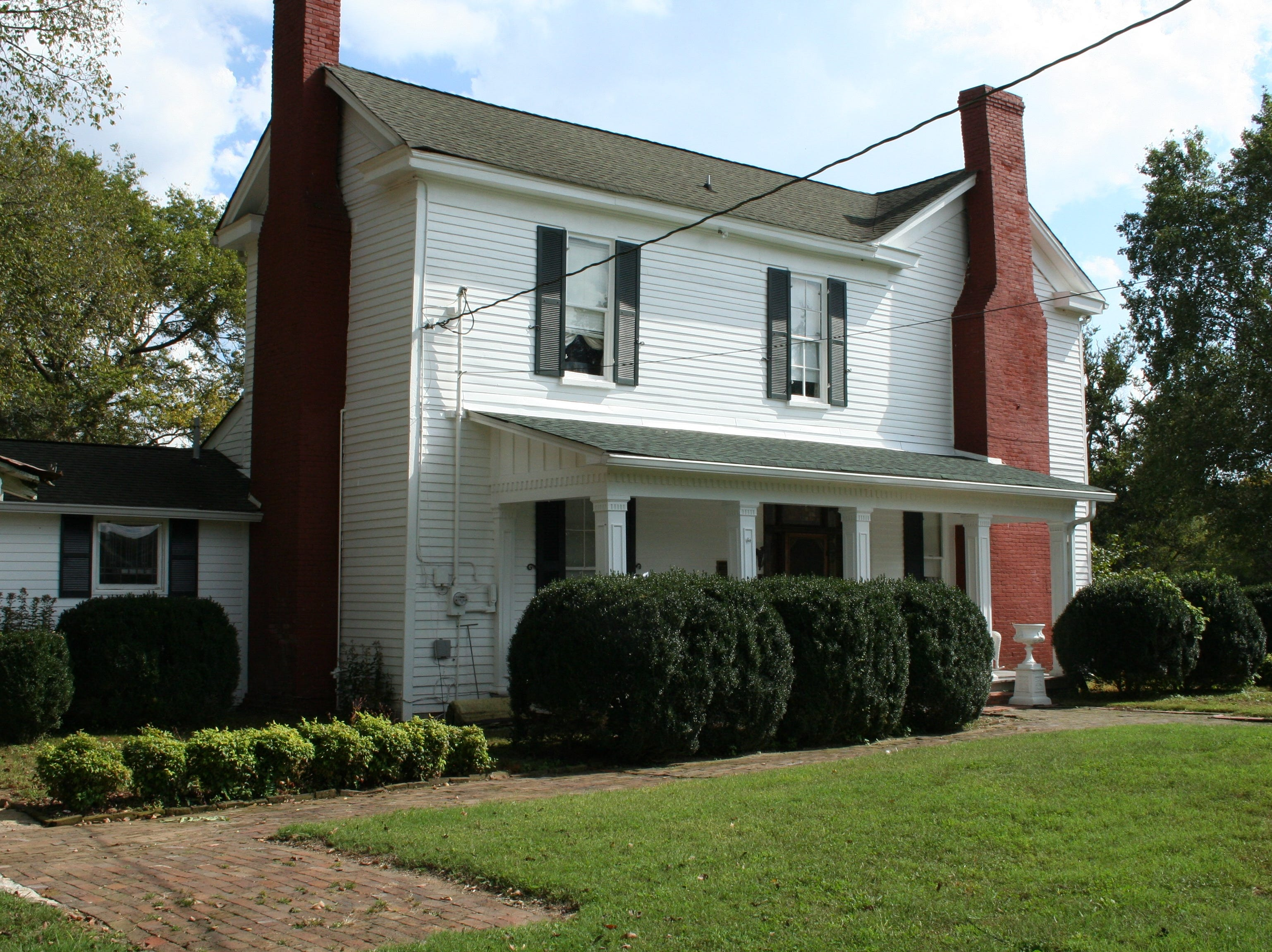 Riverside, located at 1218 W. Jefferson Pike in Murfreesboro (near Walter Hill), is up for auction starting at 10 a.m. Saturday, Oct. 27. Antiques, furnishings and the property are up for sale through Bob Parks Auction.