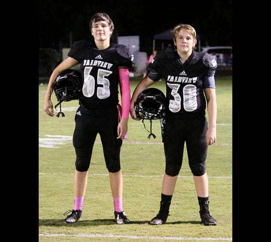 Brothers Zach and Jacob Derrick share strong bond on and off the football field.