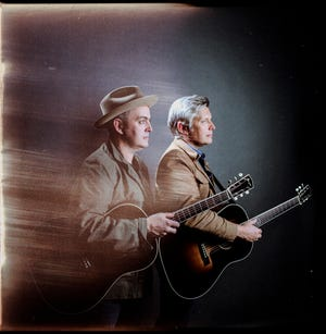 """The Gibson Brothers (Leigh, left, and Eric) are releasing new album """"Mockingbird"""" on Nov. 9."""