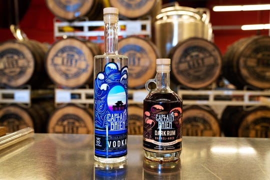 Brien Spina, known as Capt. Brien, started Off The Hook Comedy Club first on Marco Island and now in North Naples. The businessman, whose stand-up club is inside ROW Seafood Restaurant, now is introducing a line of alcohol: Capt. Brien's rum and vodka, which will sell in Southwest Florida liquor stores.