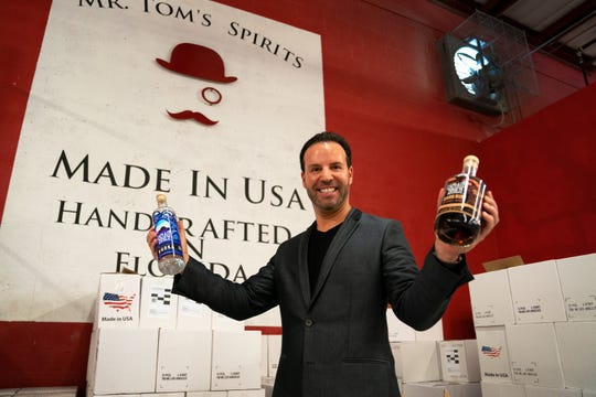 Brien Spina, known as Capt. Brien, started his Off The Hook Comedy Club first on Marco Island and now in North Naples. The businessman, whose stand-up club is inside ROW Seafood Restaurant, now is introducing a line of alcohol: Capt. Brien's rum and vodka, which will sell in Southwest Florida liquor stores.
